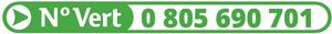Numéro Vert 0 805 690 701 (Appels gratuits depuis un poste fixe)